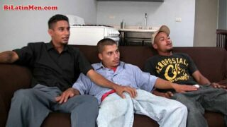 Straight married latino men fuck around with each other 80 sec